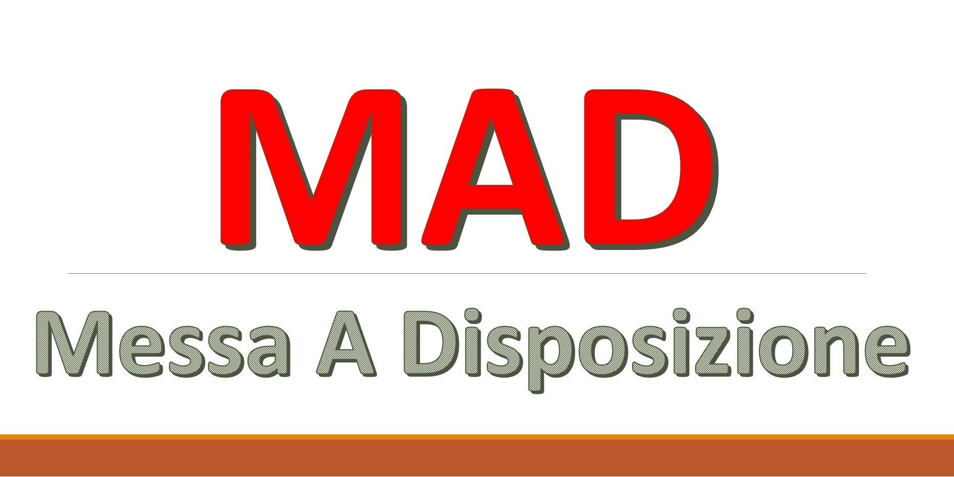 """Termini di accettazione delle domande di messa a disposizione (MAD) a.s.  2021-2022 – Primo I.C. """"De Amicis-Manzoni"""""""